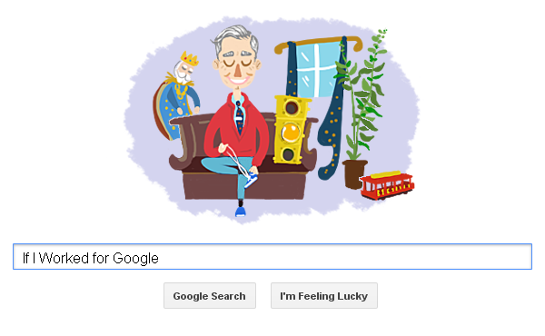 Google Doodle Fan Made Mister Rogers Know Your Meme