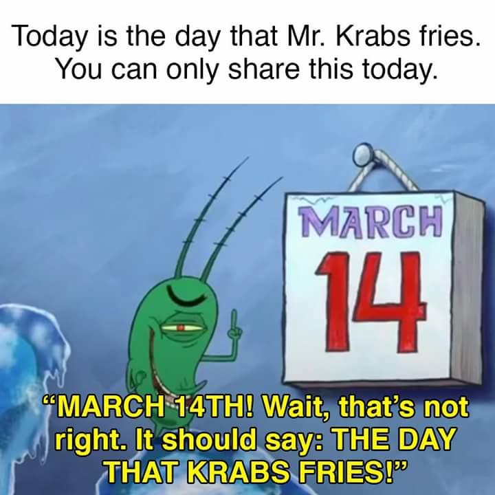 The Day That Mr Krabs Fries Spongebob Squarepants Know Your Meme