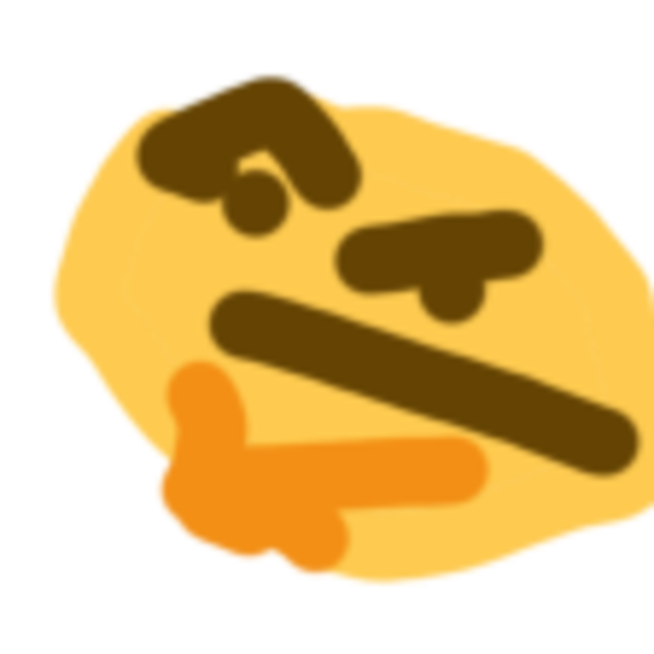 Thonk Thinking Face Emoji Know Your Meme