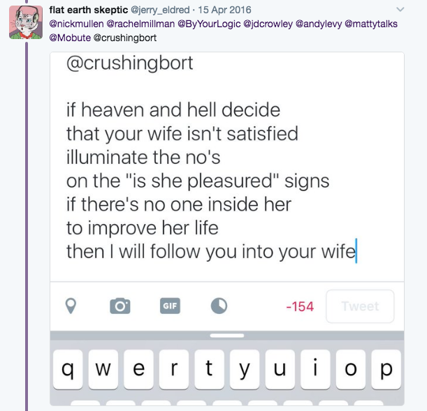 I'll Follow You Into Your Wife | @MarkusJ's