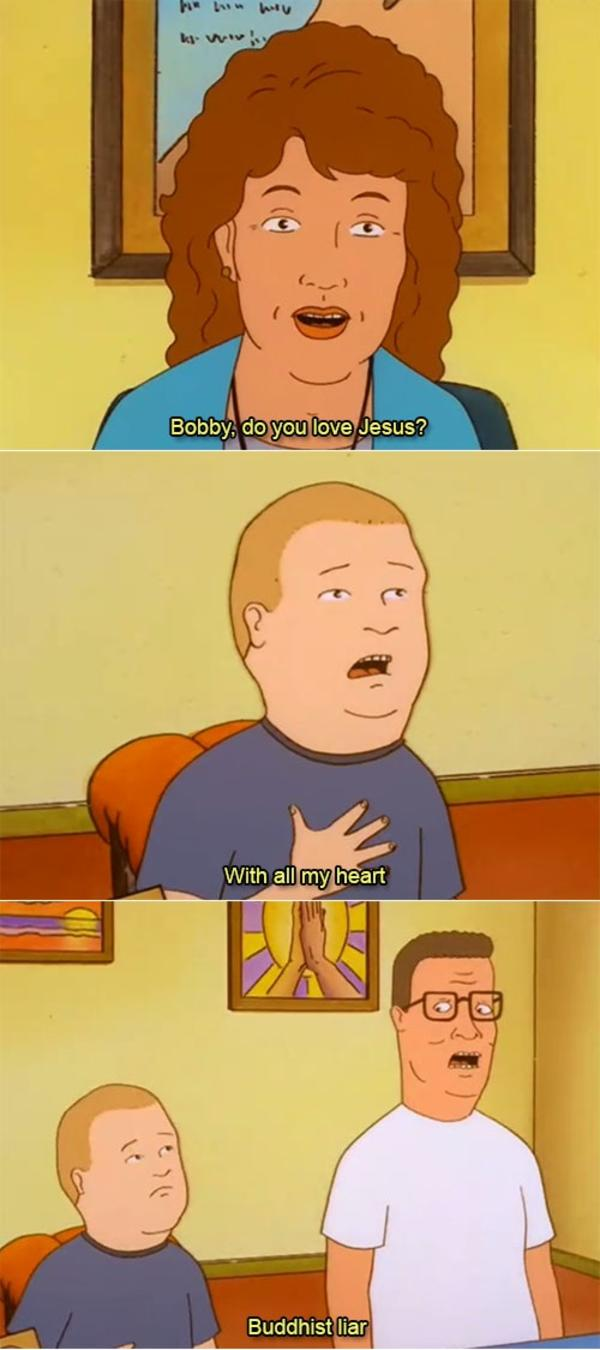 Liar King Of The Hill Know Your Meme