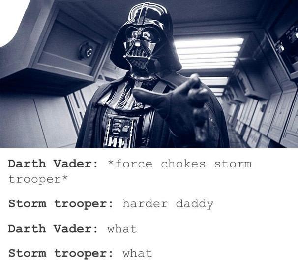 Choke me harder daddy