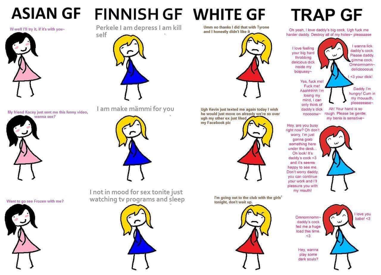 Finnish girlfriend