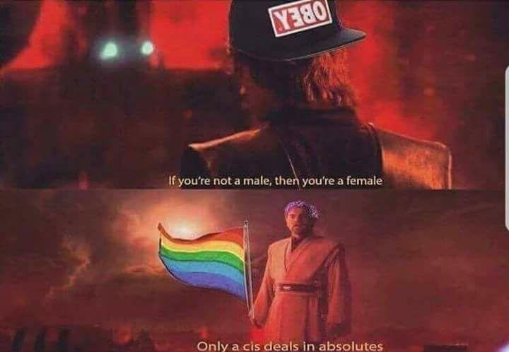 Only a cis deals in absolutes   Star Wars Episode III