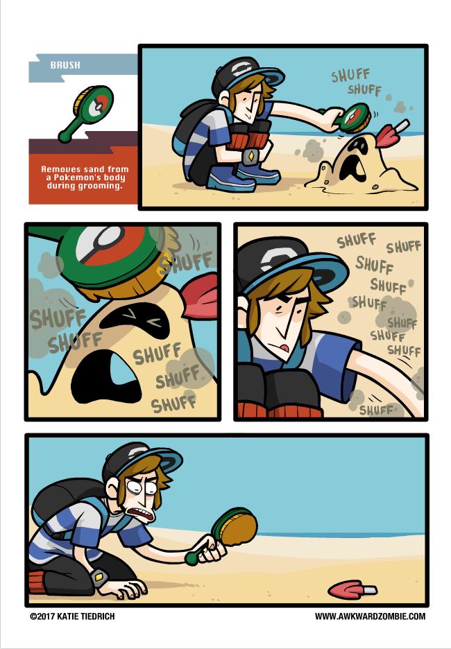 A Clean Kill Awkwardzombie Pokemon Sun And Moon Know Your Meme