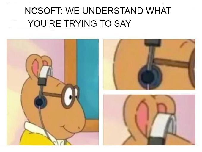 Resultado de imagen de ncsoft meme