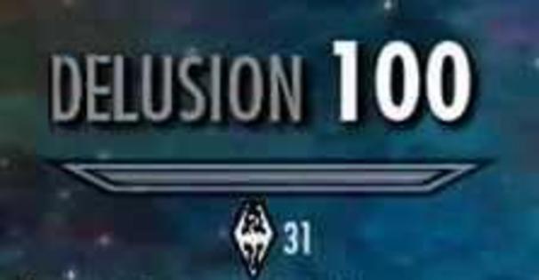 delusion 100   Skyrim Skill Tree   Know Your Meme