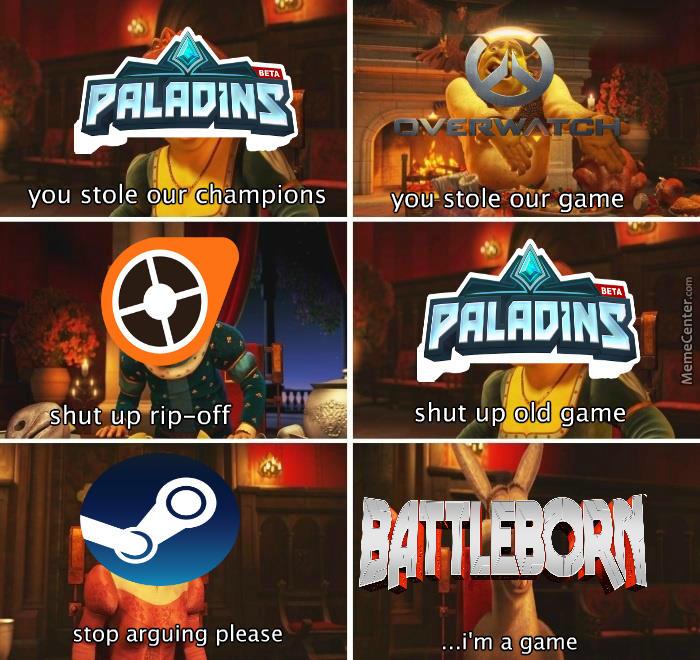 all'ingrosso online gamma molto ambita di design di qualità Overwatch Paladins argument goes on. | Paladins: Champions ...