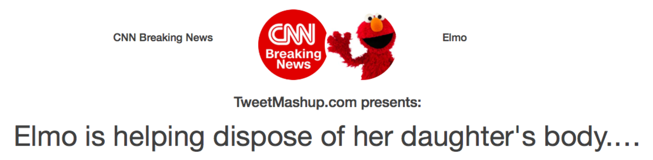 CNN & Elmo | Tweet Mashup | Know Your Meme