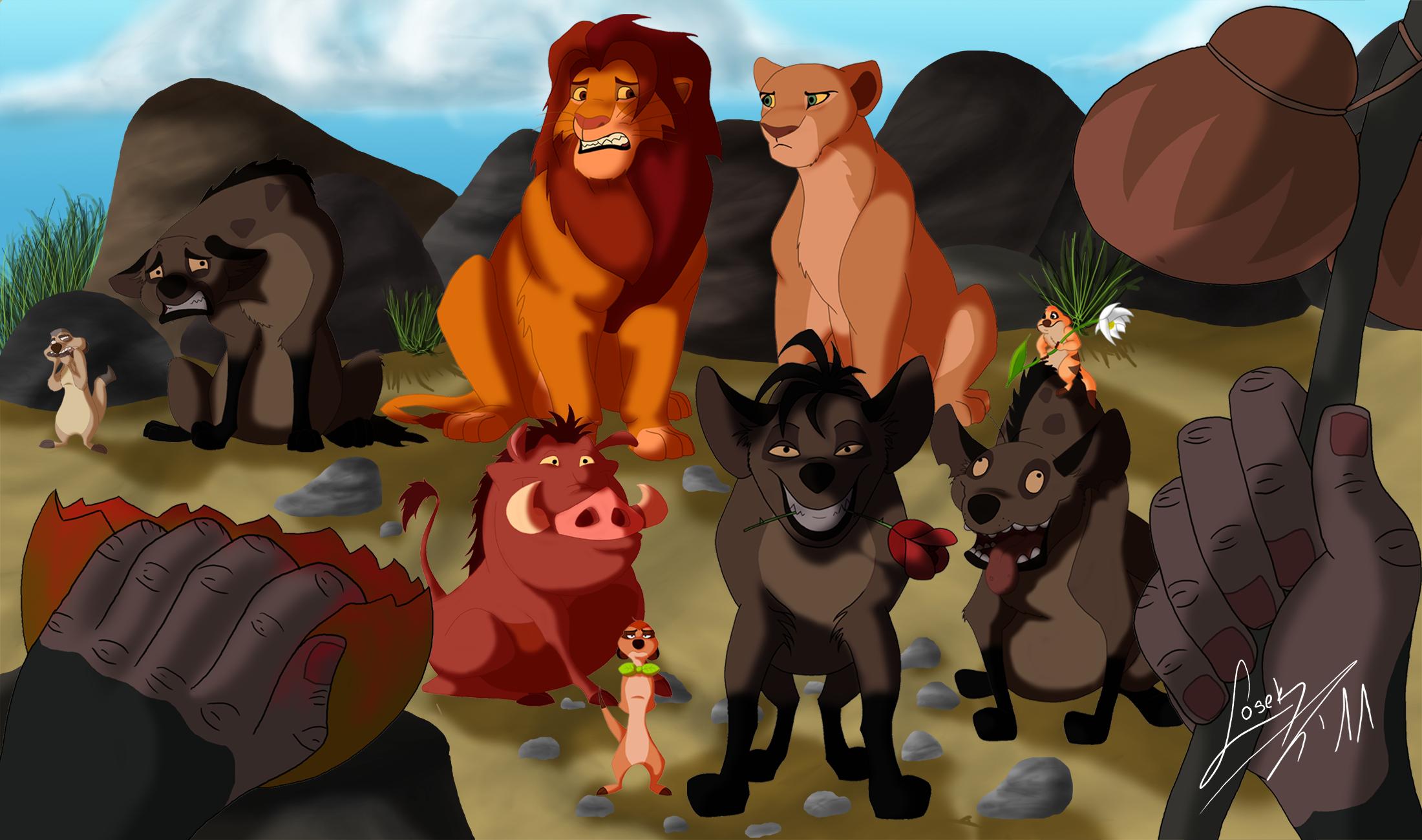 Смотреть картинки король лев приколы