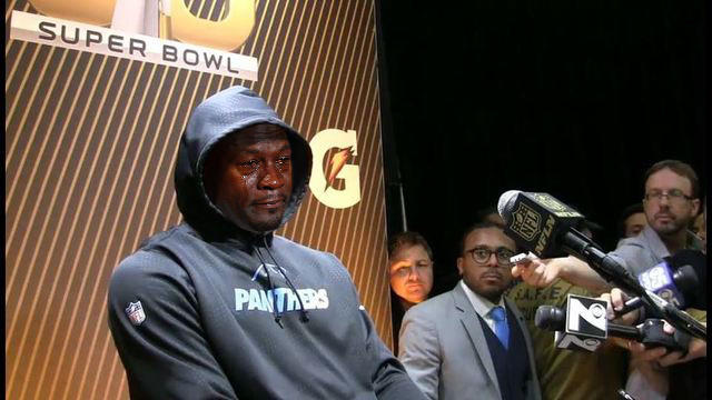 buty na tanie najlepsza wartość online tutaj Cam Newton | Crying Michael Jordan | Know Your Meme