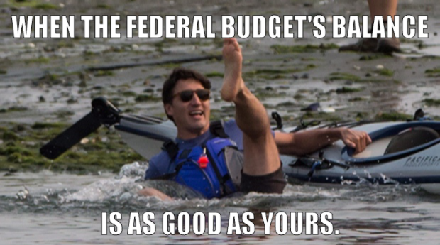 Trudeaus Wipeout Justin Trudeau Know Your Meme