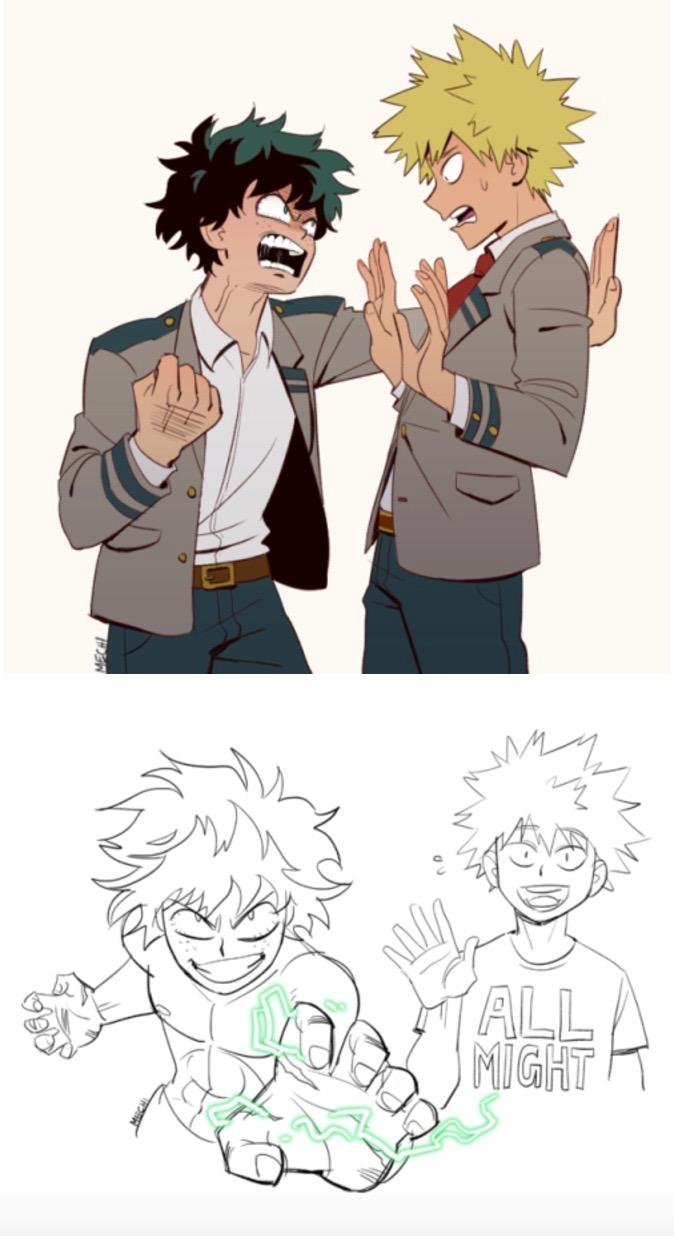 Role Reversal My Hero Academia Know Your Meme