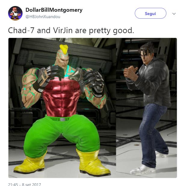 Tekken Virgin Vs Chad Know Your Meme The latest tweets from lucahjin (@lucahjin). tekken virgin vs chad know your meme