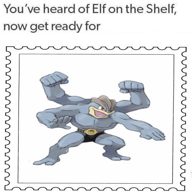 Machamp On The Stamp
