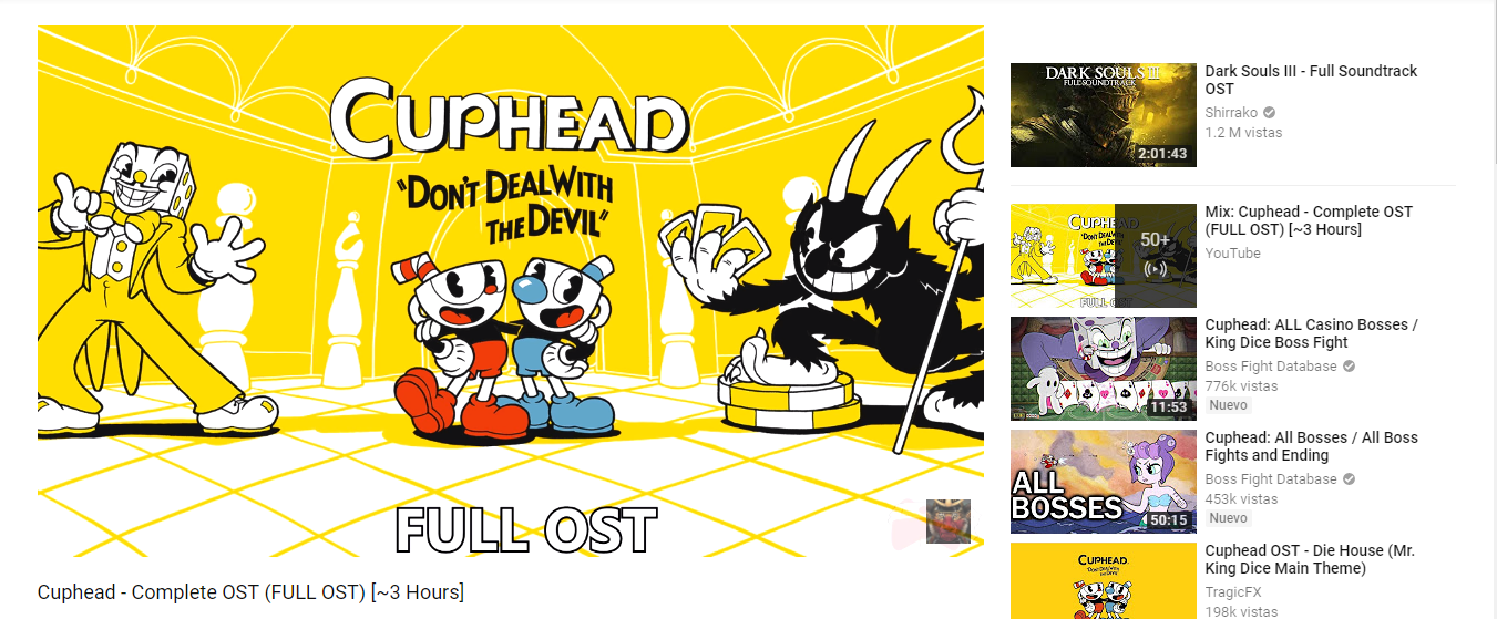 ef3a63a8fbf3 Youtube knows what is up | Cuphead | Know Your Meme