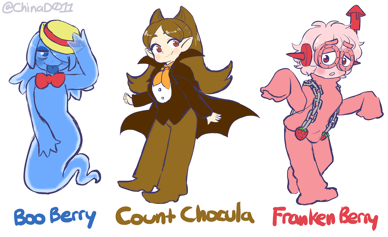 Boo Berry Count Chocula And Franken Berry But They Re Cute Girls By Chinad011 Rule 63 Know Your Meme Want to discover art related to booberry? boo berry count chocula and franken