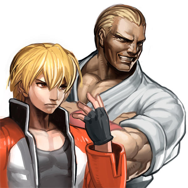 Father And Son Geese Howard Know Your Meme Son of geese howard, raised by terry bogard after he had killed geese. father and son geese howard know