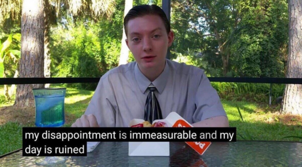 My Disappointment Is Immeasurable And My Day Is Ruined Reaction Images Know Your Meme