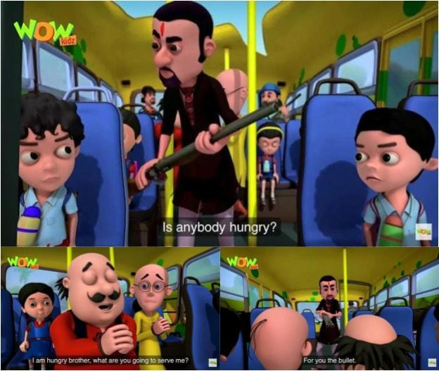 For You The Bullet Motu Patlu Know Your Meme