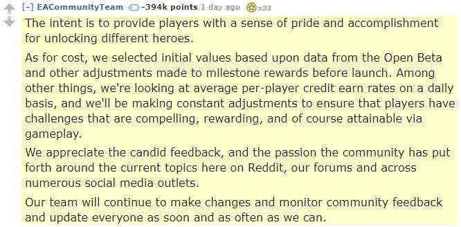 ea reddit comment most down voted comment in reddit history star