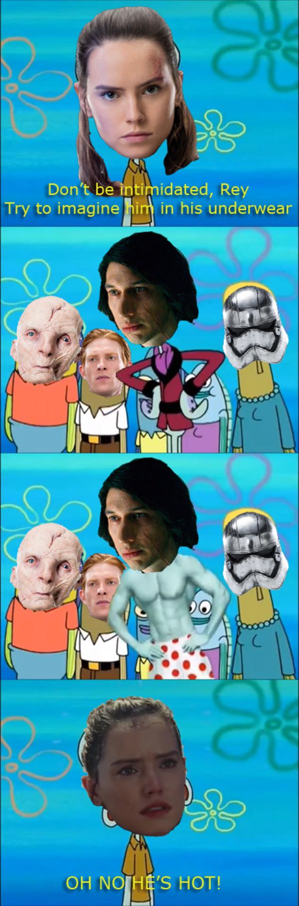 Kylo Ren Is Shredded Star Wars Know Your Meme