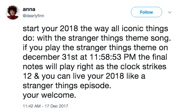 Stranger Things | If You Play This Song On New Year\'s Eve | Know ...