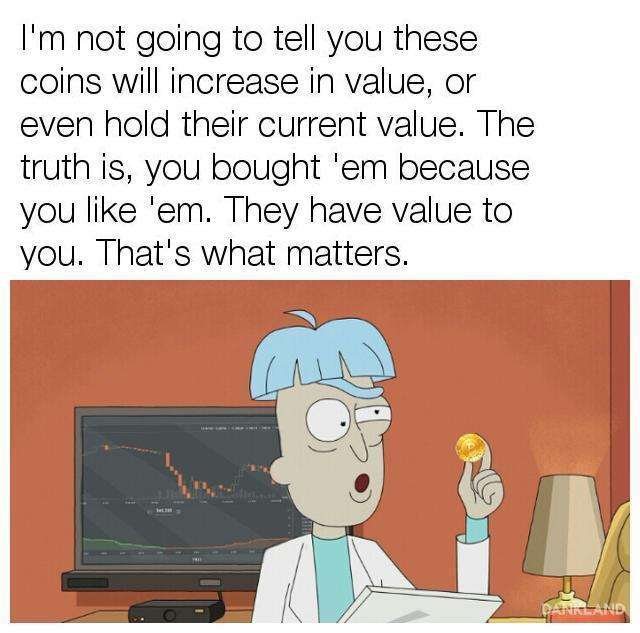 Rick And Morty On Bitcoin Bitcoin Know Your Meme