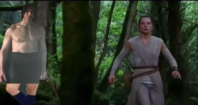 Reylo Walks Through The Woods Ben Swolo Know Your Meme
