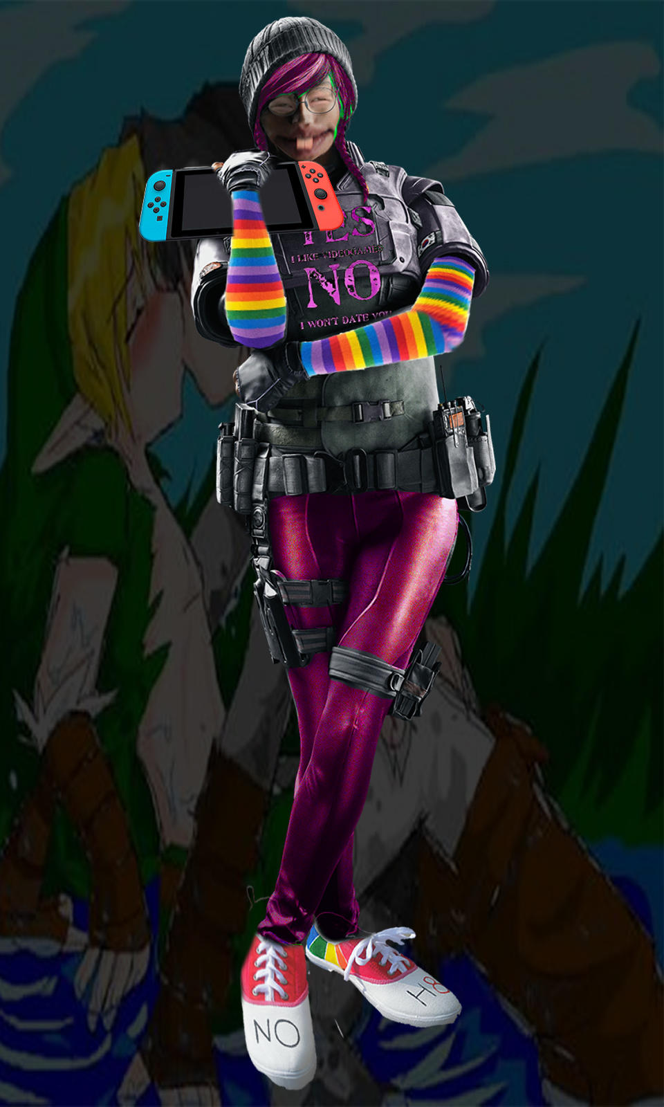 Dokkaebi Hd Photo Rainbow Six Siege Know Your Meme