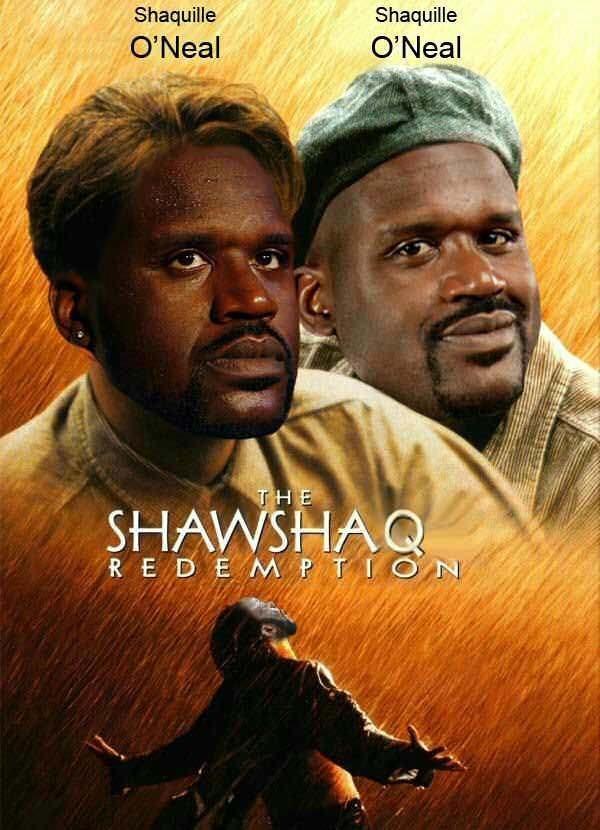 Shaw SHAQ Redemption Fake Movie Poster
