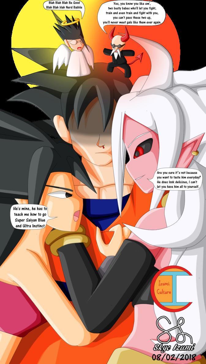 Caulifla X Goku X Majin Android 21  Dragon Ball  Know -9180