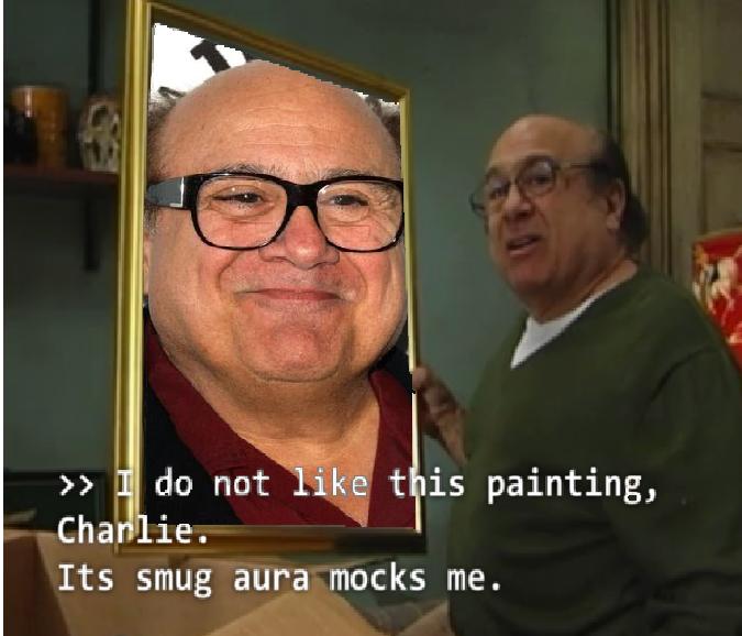 Devitoception Its Smug Aura Mocks Me Know Your Meme