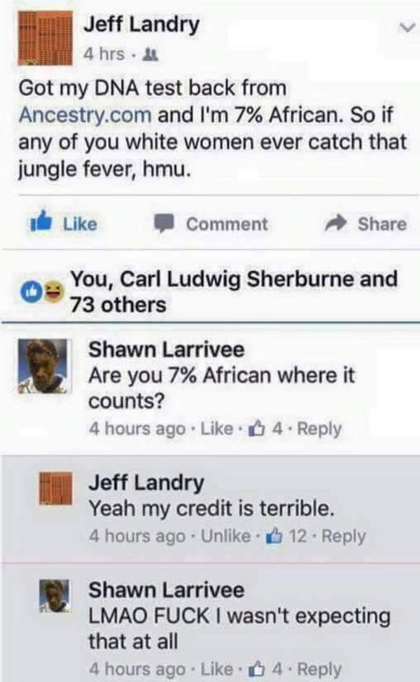 A racial post we can all approve  | Facebook | Know Your Meme