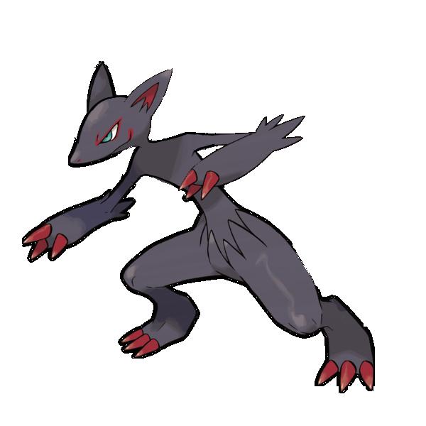 Zoroark With No Fur Pokémon Know Your Meme