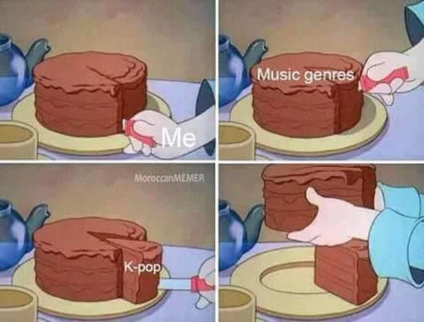 Kpop Cake Slice Know Your Meme