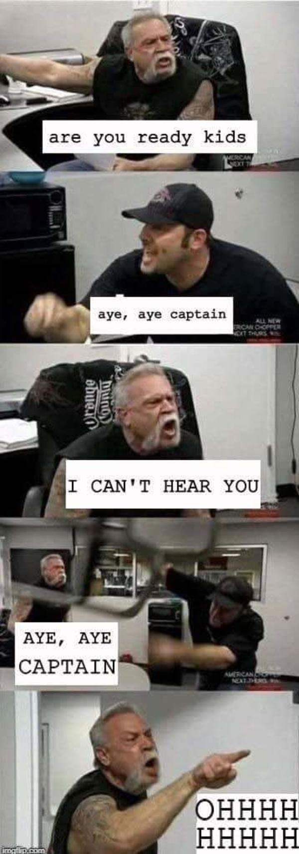 Who lives in a pineapple under the sea american chopper argument know your meme
