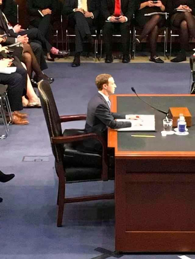 Big Chair Or Small Mark Mark Zuckerberg Congressional Hearings