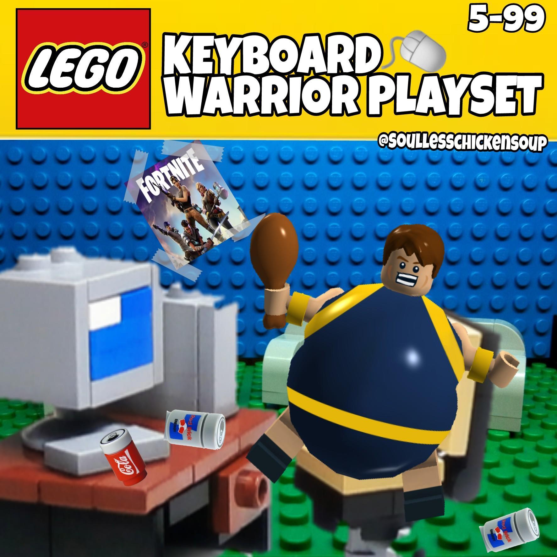Lego Keyboard Warrior Lego Know Your Meme