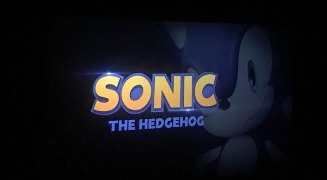 A Much Better Look Of The Sonic Movie Logo Sonic The Hedgehog