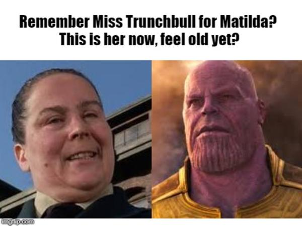f65 remember miss trunchbull from matilda? this is her now, feel old yet