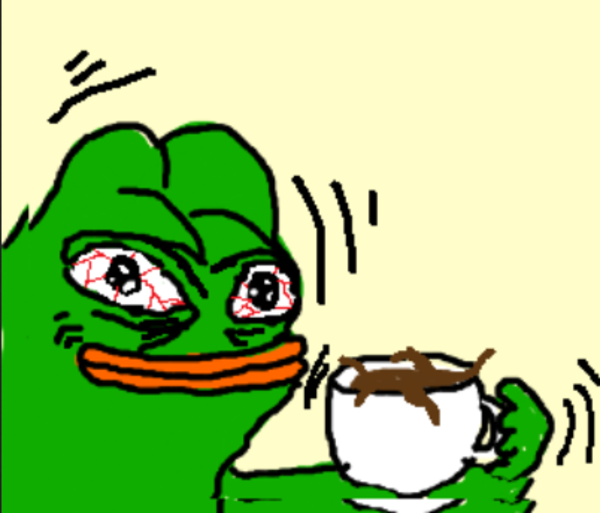 No Talkie Until Coffee 3 Pepe The Frog Know Your Meme