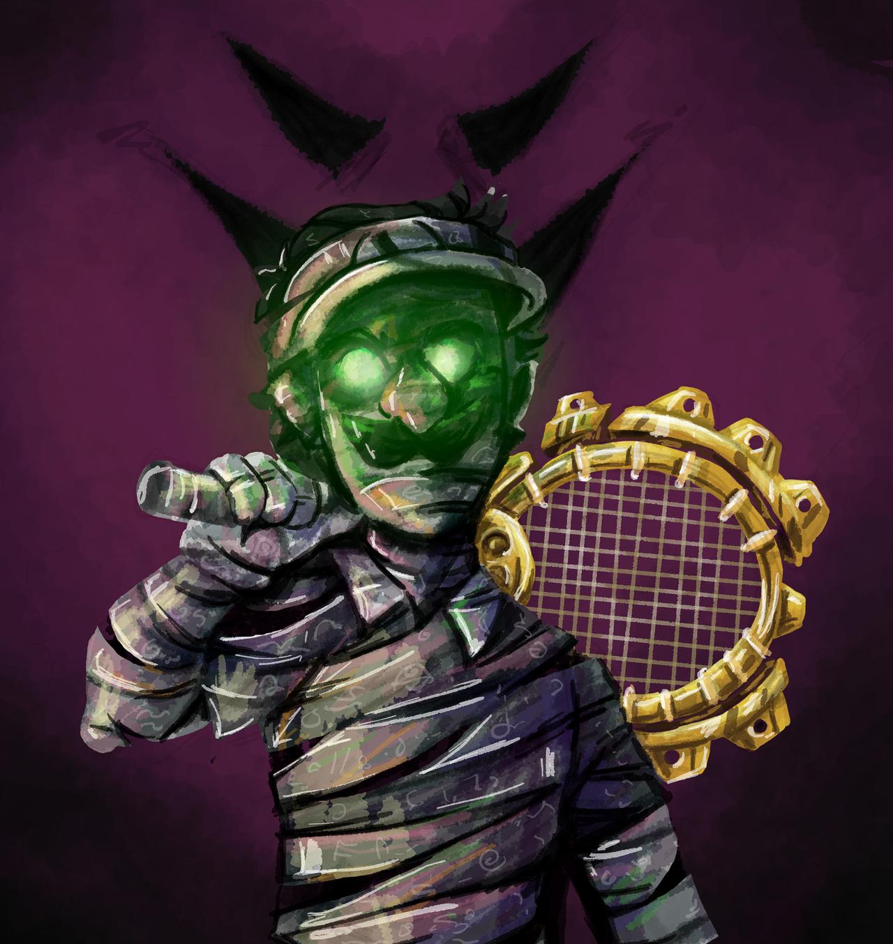 Dark Luigi Racket Mario Tennis Know Your Meme