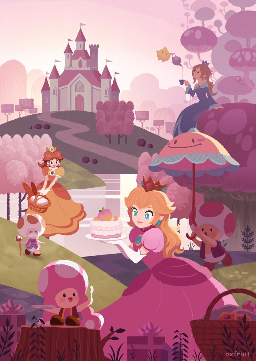 The Mushroom Kingdom Super Mario Know Your Meme