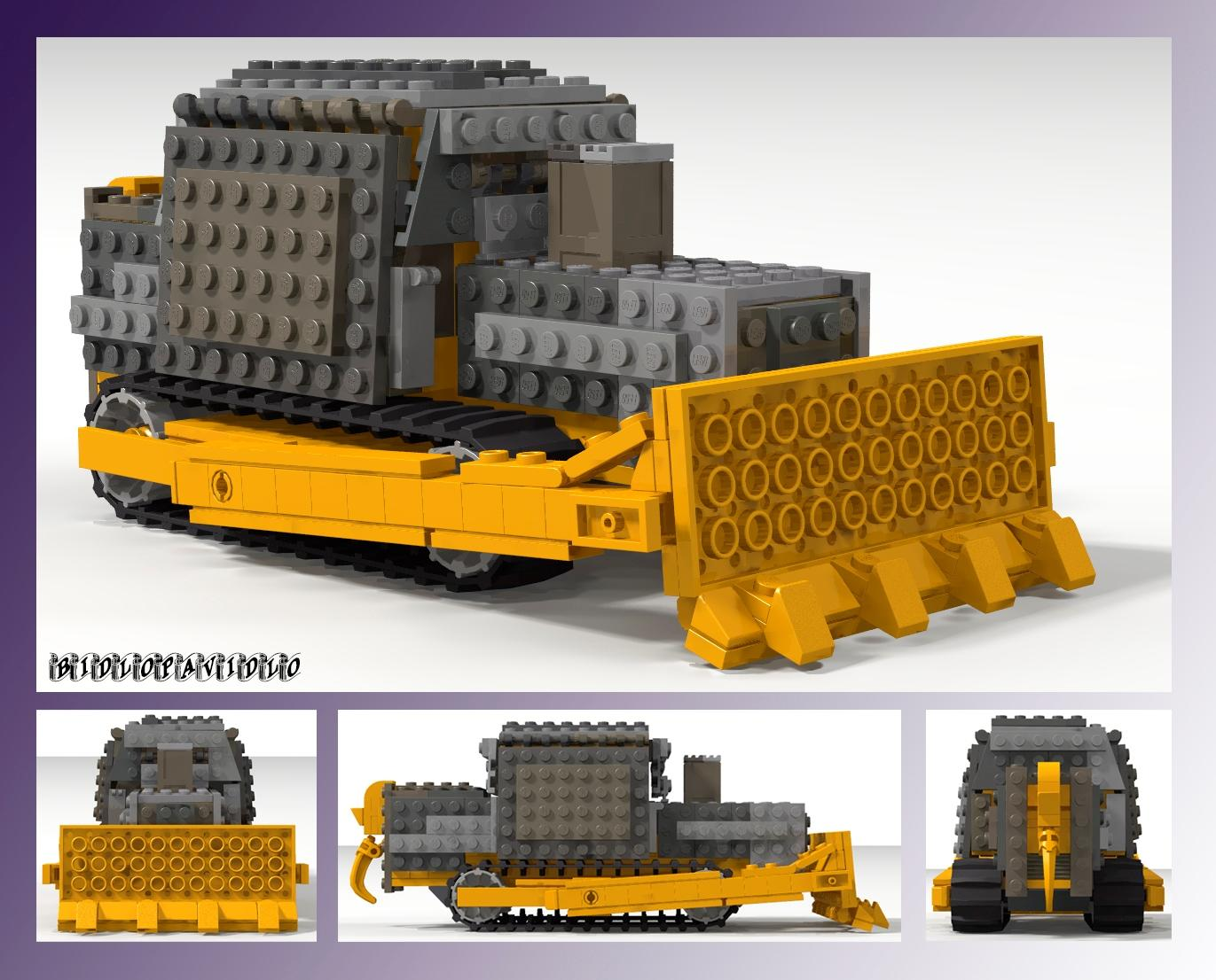 Lego Killdozer Killdozer Know Your Meme