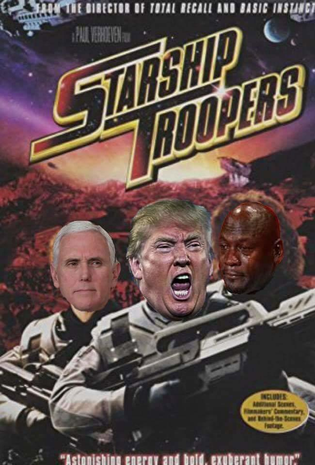 Image result for space force trump meme