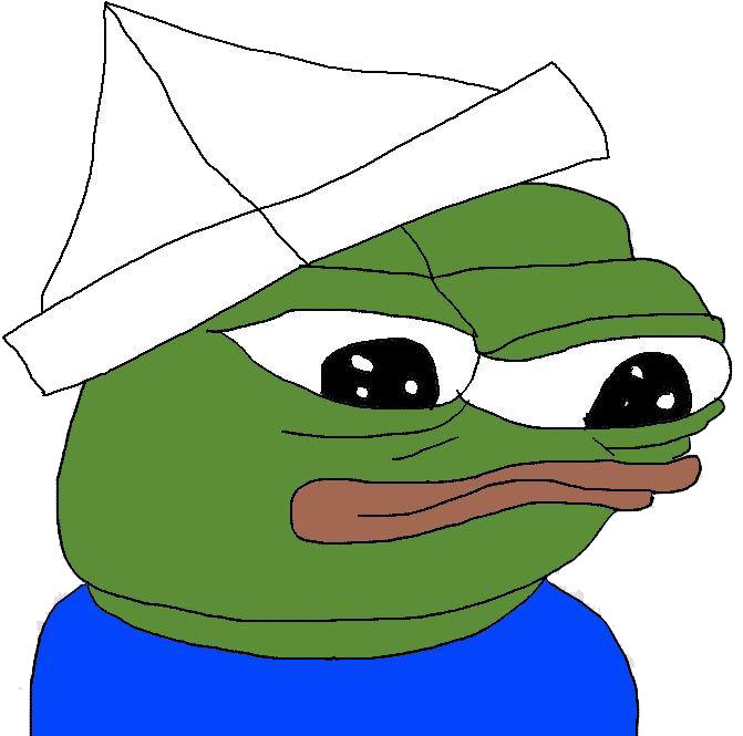 Картинка мем лягушка в кепке