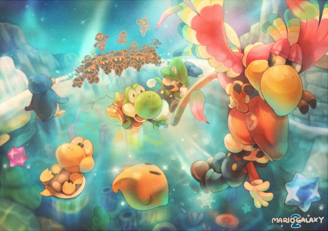 Galaxy 2 Super Mario Galaxy Know Your Meme