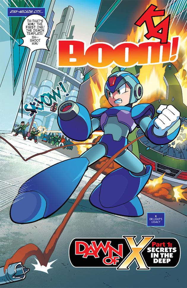Archie comics #37 :: 1/3 | Mega Man / Rockman | Know Your Meme