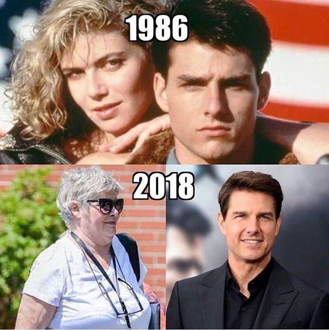 aged really well since Top Gun | Tom Cruise | Know Your Meme